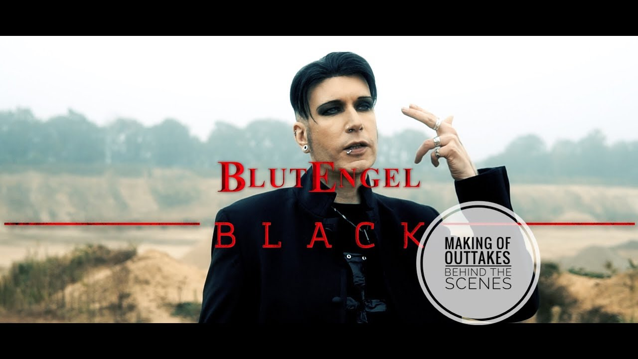 BLUTENGEL Making Of BLACK German Version Part 1/3