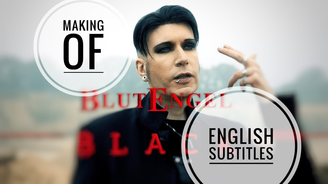 Blutengel Making Of Black #01 english subtitles deutsch