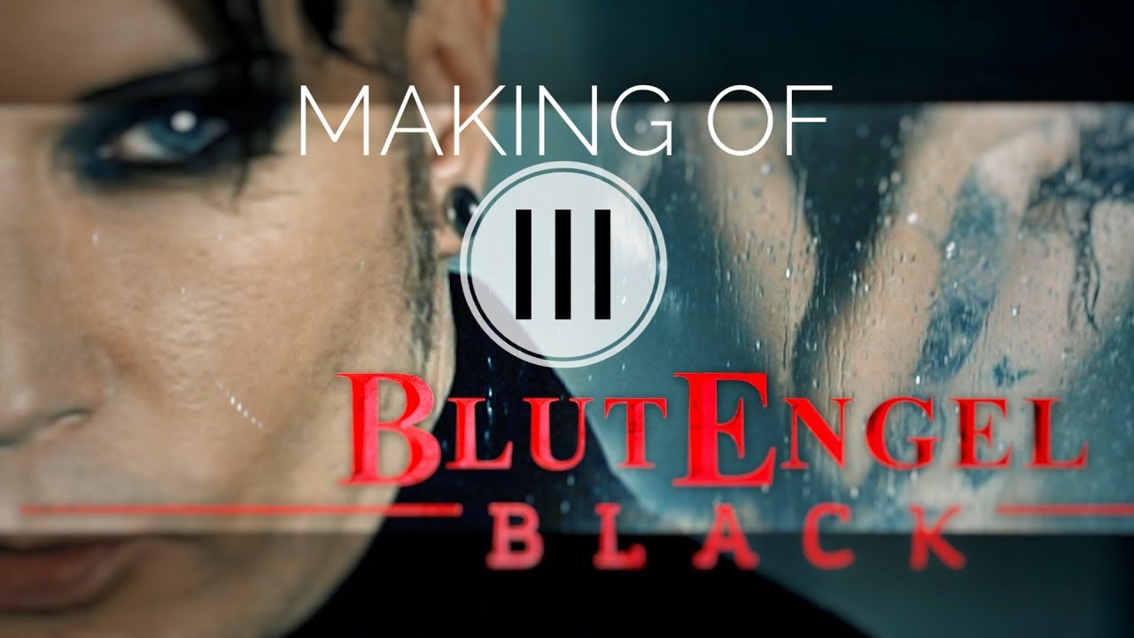 BLUTENGEL MAKING OF BLACK PART #3/3 english subtitles behind the scenes